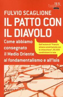 Il patto con il diavolo - Fulvio Scaglione - copertina