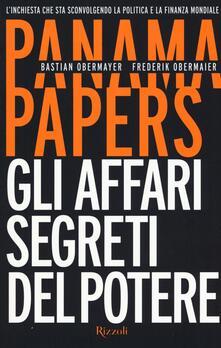 Aboutschuster.de Panama papers. Gli affari segreti del potere Image