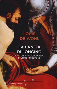 La lancia di Longino - Louis Wohl - copertina