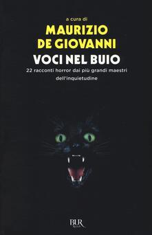 Parcoarenas.it Voci nel buio. 22 racconti horror dei più grandi maestri dell'inquietudine Image
