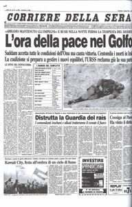 Libro La storia nelle prime pagine del Corriere della Sera  4