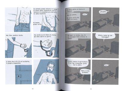Libro Fuggire. Memorie di un ostaggio Guy Delisle 4