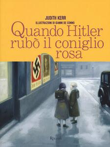 Libro Quando Hitler rubò il coniglio rosa Judith Kerr