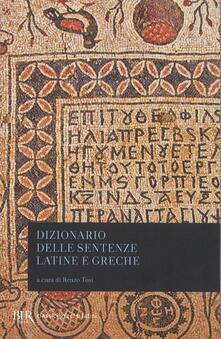 Dizionario delle sentenze latine e greche.pdf