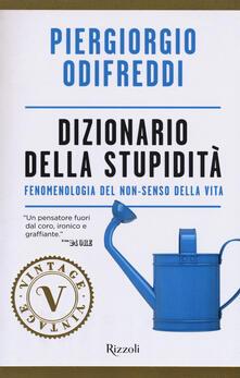Radiospeed.it Dizionario della stupidità. Fenomenologia del non-senso della vita Image