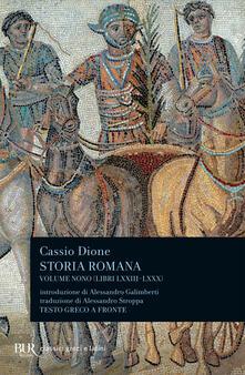 Amatigota.it Storia romana. Testo greco a fronte. Vol. 9: Libri 73-80. Image