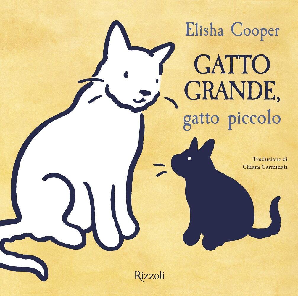 Risultati immagini per GATTO grande, gatto piccolo Elisha Cooper