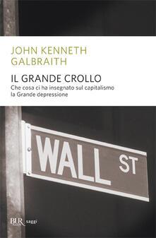 Il grande crollo - John Kenneth Galbraith - copertina