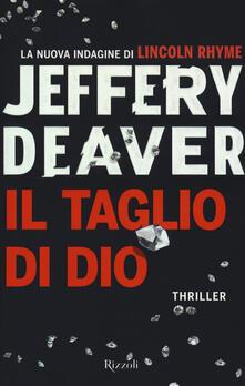 Il taglio di Dio - Jeffery Deaver - copertina