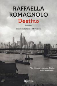 Destino - Raffaella Romagnolo - copertina