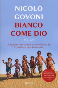 Bianco come Dio - Nicolò Govoni - copertina