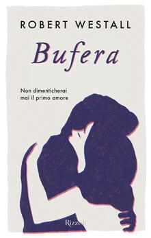 Bufera - Robert Westall - copertina