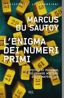 Aboutschuster.de L' enigma dei numeri primi. L'ipotesi di Riemann, il più grande mistero della matematica Image
