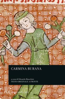 Fondazionesergioperlamusica.it Carmina Burana. Testo latino e altotedesco a fronte. Vol. 1: Canti morali e satirici. Image