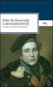 Libro L' adolescente Fëdor Dostoevskij