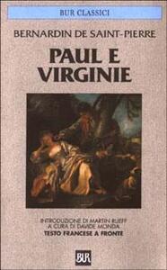 Paul e Virginie. Testo francese a fronte