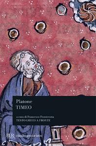 Libro Timeo. Testo greco a fronte Platone