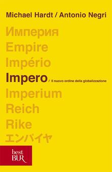 Impero - Michael Hardt,Antonio Negri - copertina