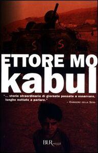 Libro Kabul Ettore Mo