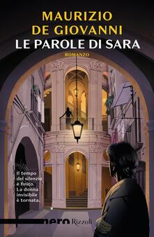 Le parole di Sara - Maurizio De Giovanni - copertina