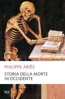 Storia della morte in Occidente - Philippe Ariès - copertina