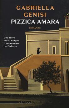Pizzica amara - Gabriella Genisi - copertina