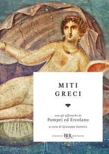 Giuseppe Zanetto – Miti greci (2019)