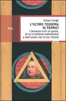 L' ultimo teorema di Fermat - Simon Singh - copertina