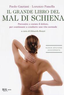 Listadelpopolo.it Il grande libro del mal di schiena. Prevenire e curare il dolore, per continuare a condurre una vita normale Image