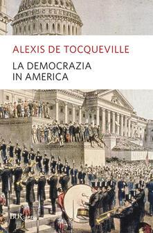 La democrazia in America - Alexis de Tocqueville - copertina