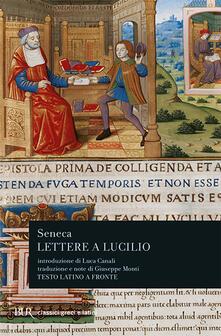 Lettere a Lucilio - Lucio Anneo Seneca - copertina