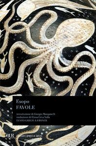 Libro Favole. Testo greco a fronte Esopo