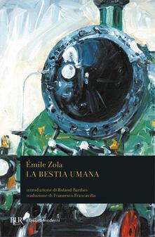 La bestia umana - Émile Zola - copertina