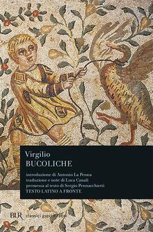 Bucoliche - Publio Virgilio Marone - copertina
