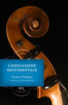 L' educazione sentimentale - Gustave Flaubert - copertina
