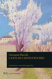 Copertina  Canti di Castelvecchio