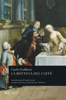 La bottega del caffè - Carlo Goldoni - copertina