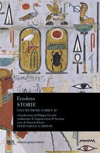 Foto Cover di Storie. Testo greco a fronte. Vol. 1: Libri 1º-2º., Libro di Erodoto, edito da BUR Biblioteca Univ. Rizzoli