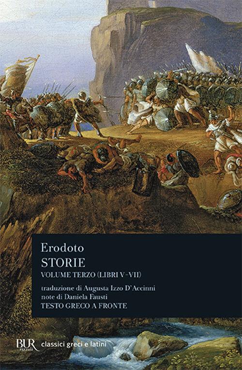 Storie. Testo greco a fronte. Vol. 3: Libri 5º-7º.