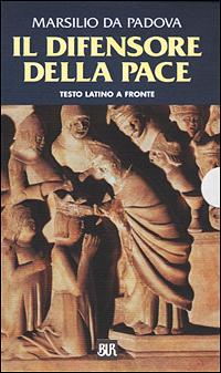 Il difensore della pace. Testo latino a fronte