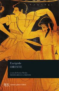 Foto Cover di Oreste, Libro di Euripide, edito da BUR Biblioteca Univ. Rizzoli