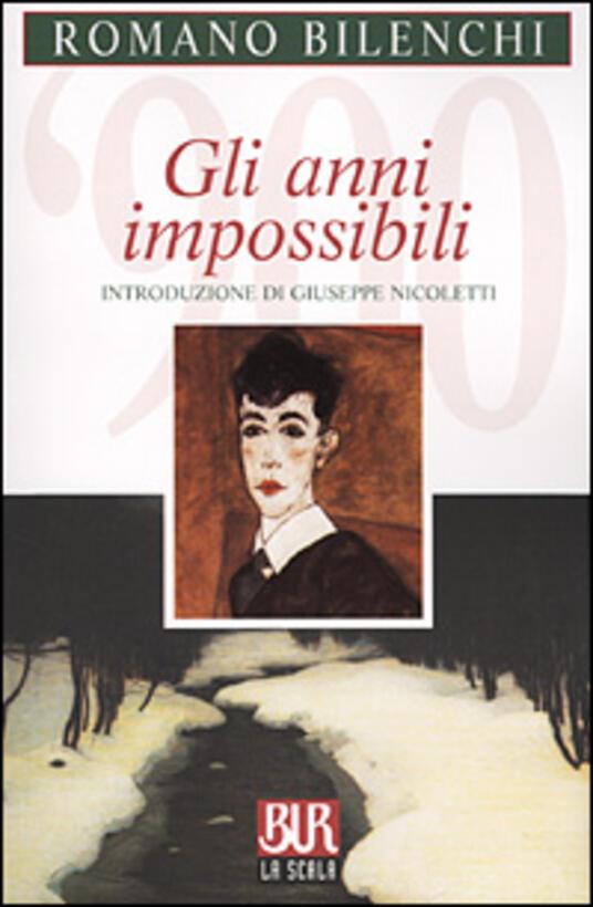Gli anni impossibili - Romano Bilenchi - copertina