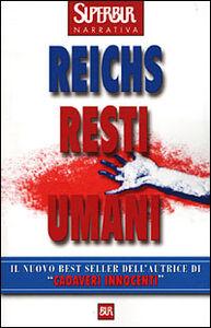 Libro Resti umani Kathy Reichs