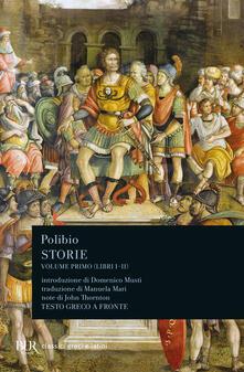 Mercatinidinataletorino.it Storie. Testo greco a fronte. Vol. 1: Libri I-II. Image