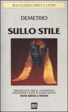 Listadelpopolo.it Sullo stile. Testo greco a fronte Image