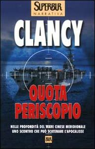 Libro Quota periscopio Tom Clancy