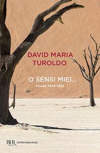 Foto Cover di O sensi miei... Poesie 1948-1988, Libro di David M. Turoldo, edito da BUR Biblioteca Univ. Rizzoli