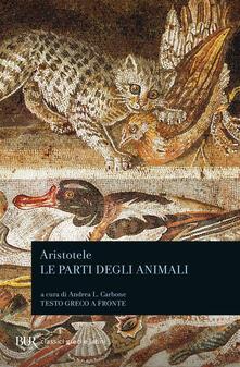 Vitalitart.it Le parti degli animali. Testo greco a fronte Image
