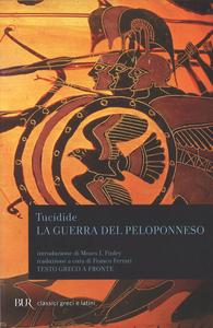 Libro La guerra del Peloponneso. Testo greco a fronte Tucidide