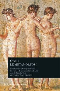 Libro Le metamorfosi P. Nasone Ovidio